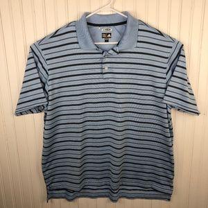 Adidas Polo Shirt Climacool Golf Striped XL